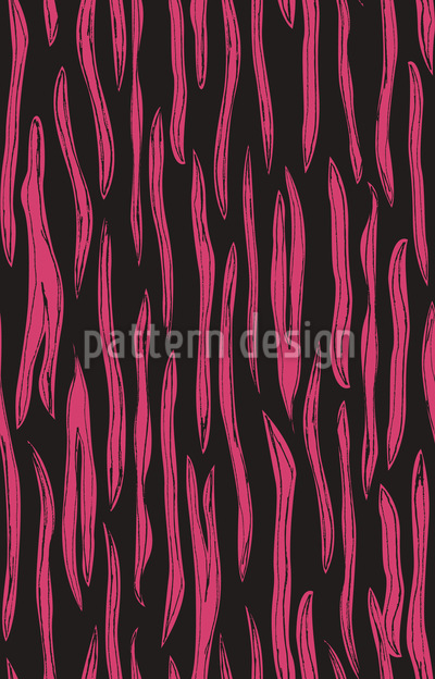 Pop Art Zebra Repeating Pattern