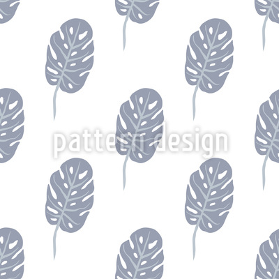 Monstera Seamless Vector Pattern
