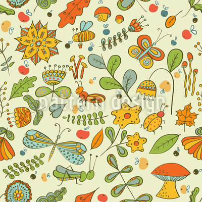 Small Life Repeat Pattern