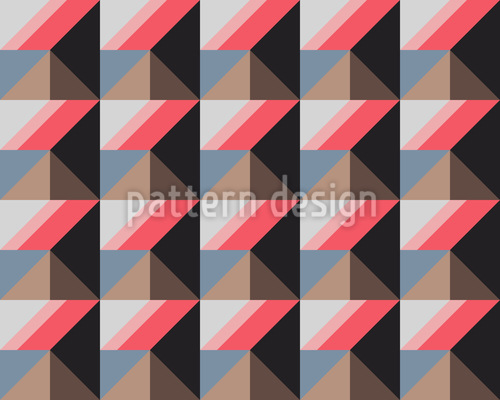 Pyramide Oder Quadrat Vektor Muster