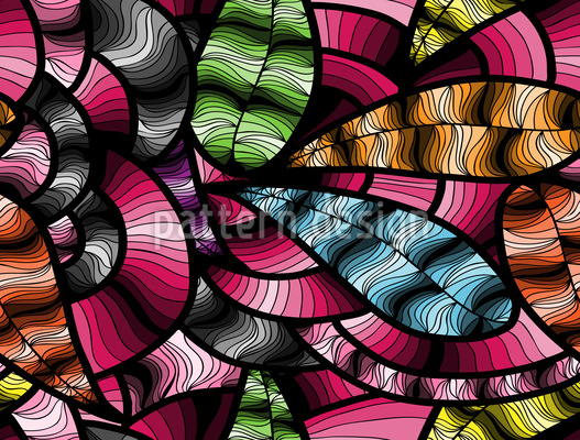 Abstract Shades Seamless Vector Pattern