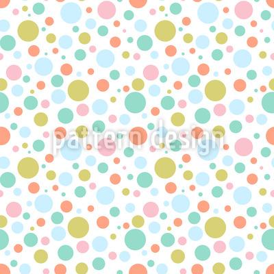Ein Haufen Punkte Muster Design