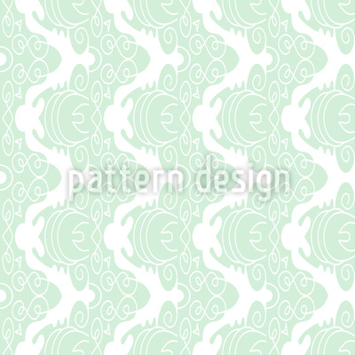 In Gentle Curves Pattern Design