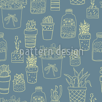 Potted Plants Lover Repeat Pattern