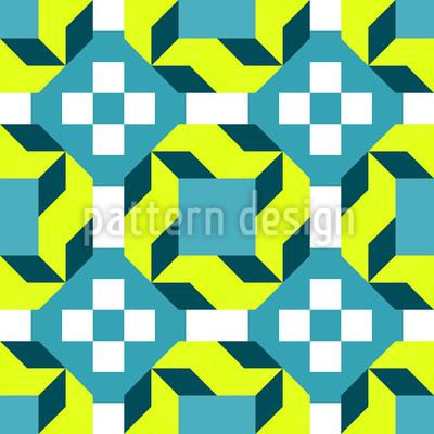 Rhombus Quadrat Und Dreieck Designmuster