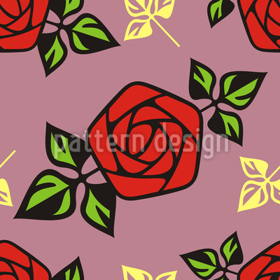 Flower Of Passion Vector Ornament