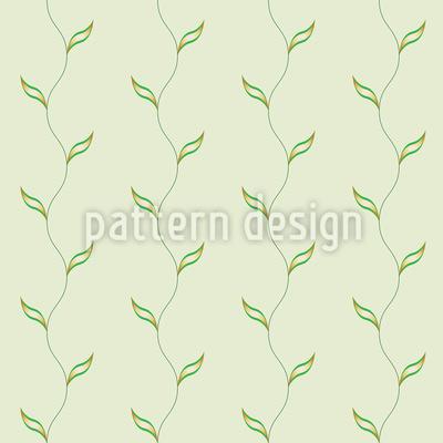 Blatt Gewächs Musterdesign