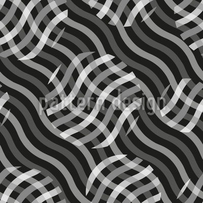 Auf Wellen Treiben Vektor Muster