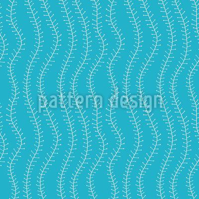 Growing Tendrillars Seamless Vector Pattern