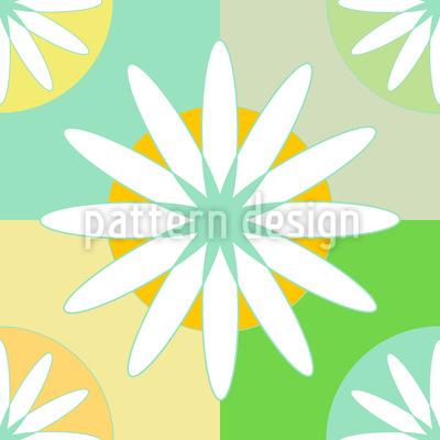 Sommer-Tischdecke Vektor Design