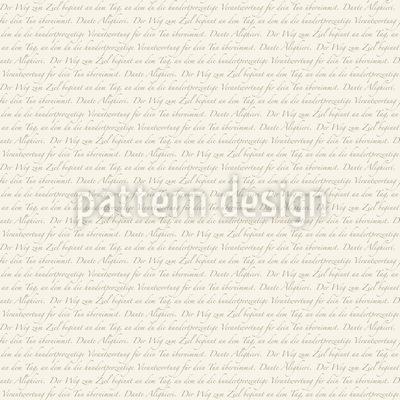 Dantes Way In German Repeat Pattern