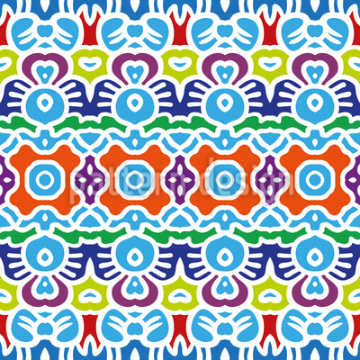 Modern Orient Seamless Pattern