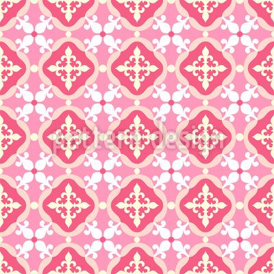 Spanish Tiles Vector Pattern