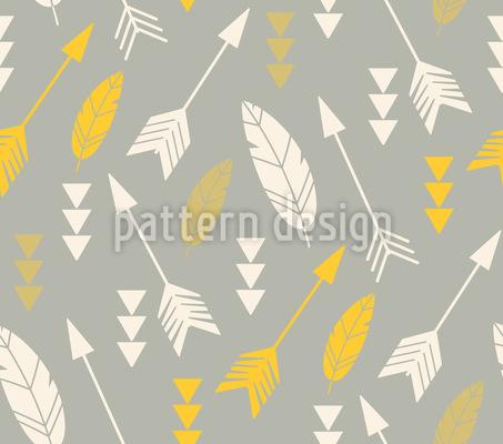 Fliegende Pfeile Muster Design