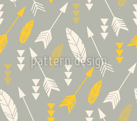 Flying Arrows Pattern Design
