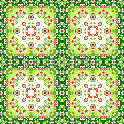 Beautifully Tiled Vector Ornament