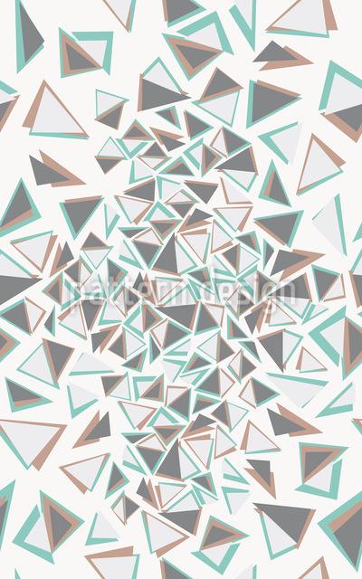 Dreieckschaos Vektor Muster