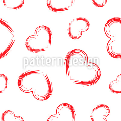 Grosses Herz Rapportmuster