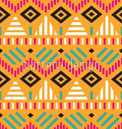 Inca Cult Seamless Vector Pattern