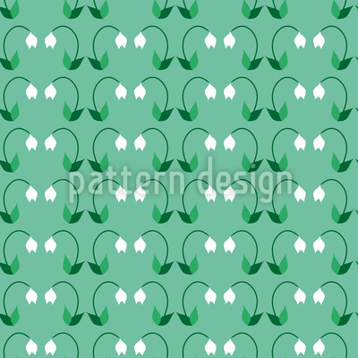 Snowdrop Greeting Vector Ornament