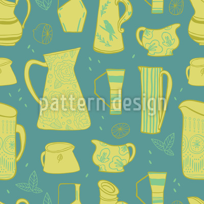 Retro Jugs Pattern Design