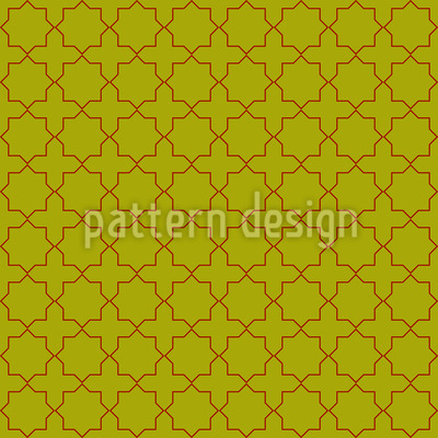 Traditional Oriental Repeat Pattern