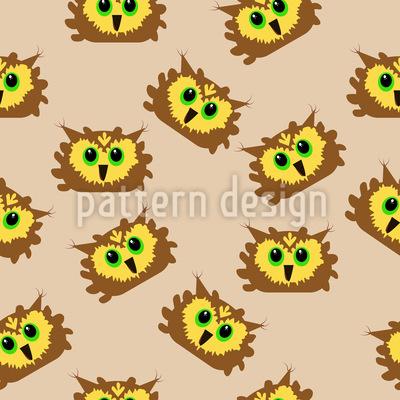 Owl Faces Repeat
