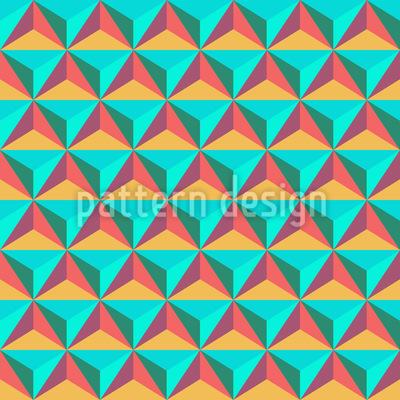 Dreieck Steine Nahtloses Muster