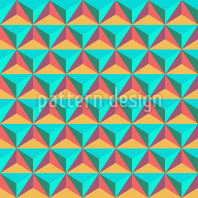 Triangle Stones Seamless Pattern