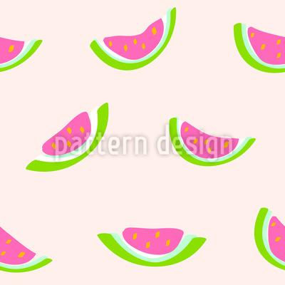 Wassermelone Musterdesign
