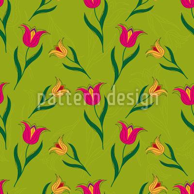 Tulpenbeet Vektor Ornament