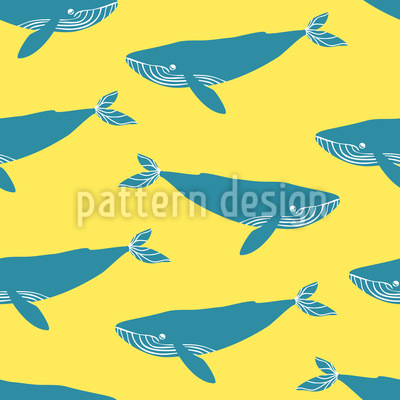 Blue Whales Repeating Pattern