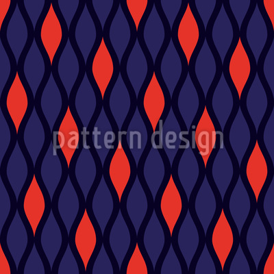 Lambent Flames Pattern Design