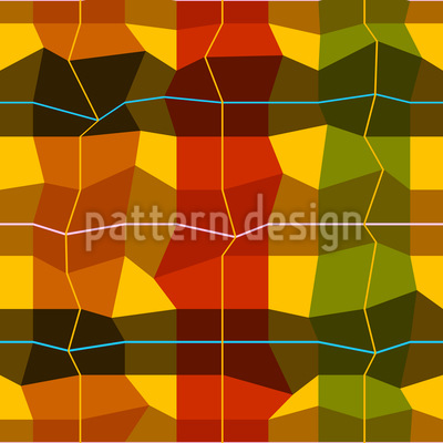 Almost Checkered Repeating Pattern