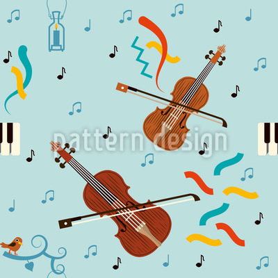 The Concert Seamless Pattern