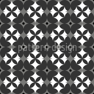 Flowers Side By Side Design Pattern