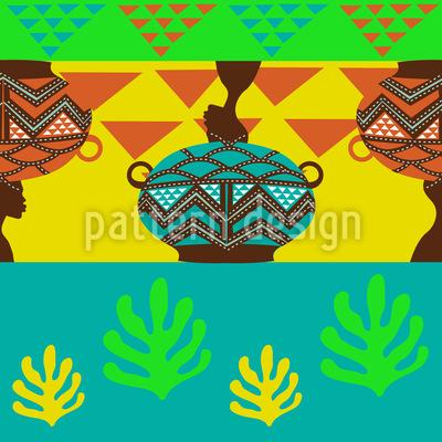 Afrikanische Stimmung Muster Design