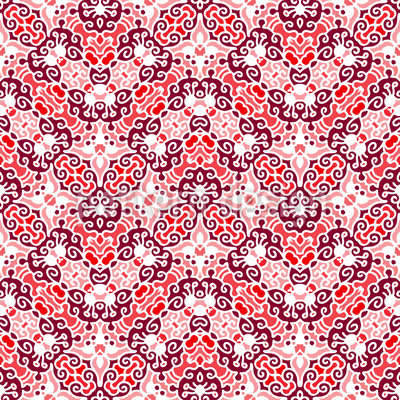 Cheerful Embellishment Pattern Design