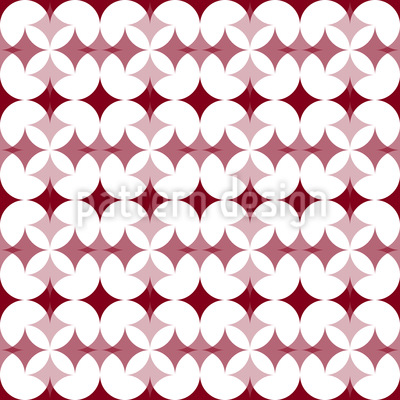 Star Crossover Seamless Vector Pattern