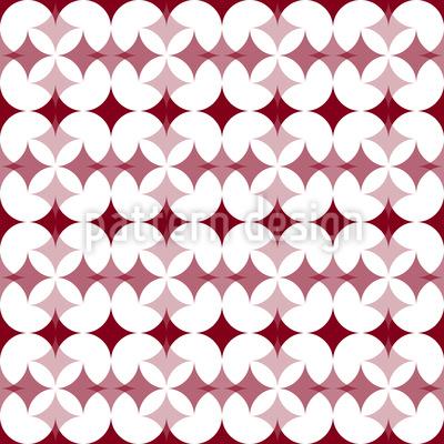 Stern Kreuzung Nahtloses Vektor Muster