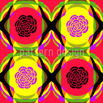 Pop Art Roses Repeat