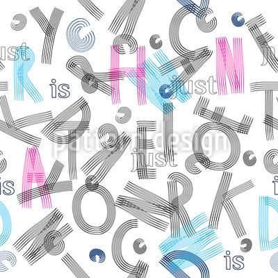 ABC Letters Pattern Design