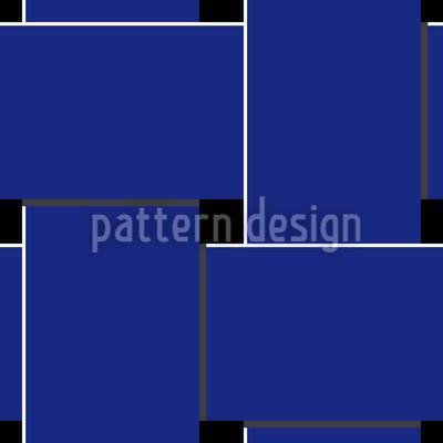 Blaue Webung Rapportiertes Design