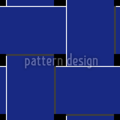 Blue Weave Repeating Pattern