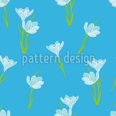 Frühlings Krokus Vektor Design