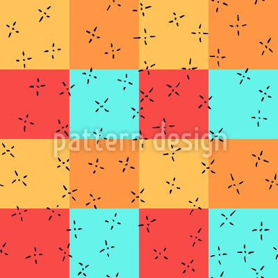 Kleine Kreuzlein Vektor Muster