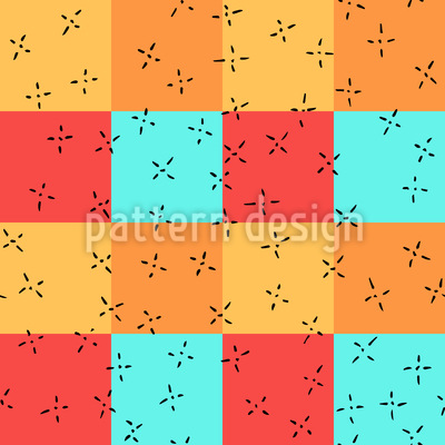 Little Crosses Vector Pattern