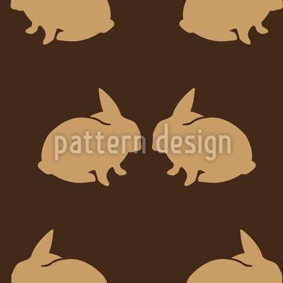 Hasenpärchen Vektor Design