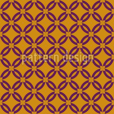 Flower Grid Pattern Design