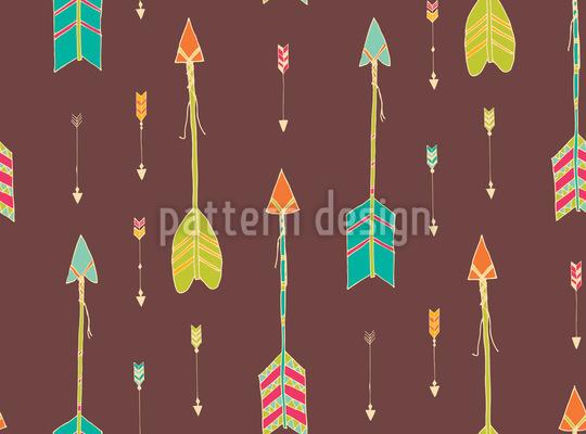 Ethno Arrows Pattern Design